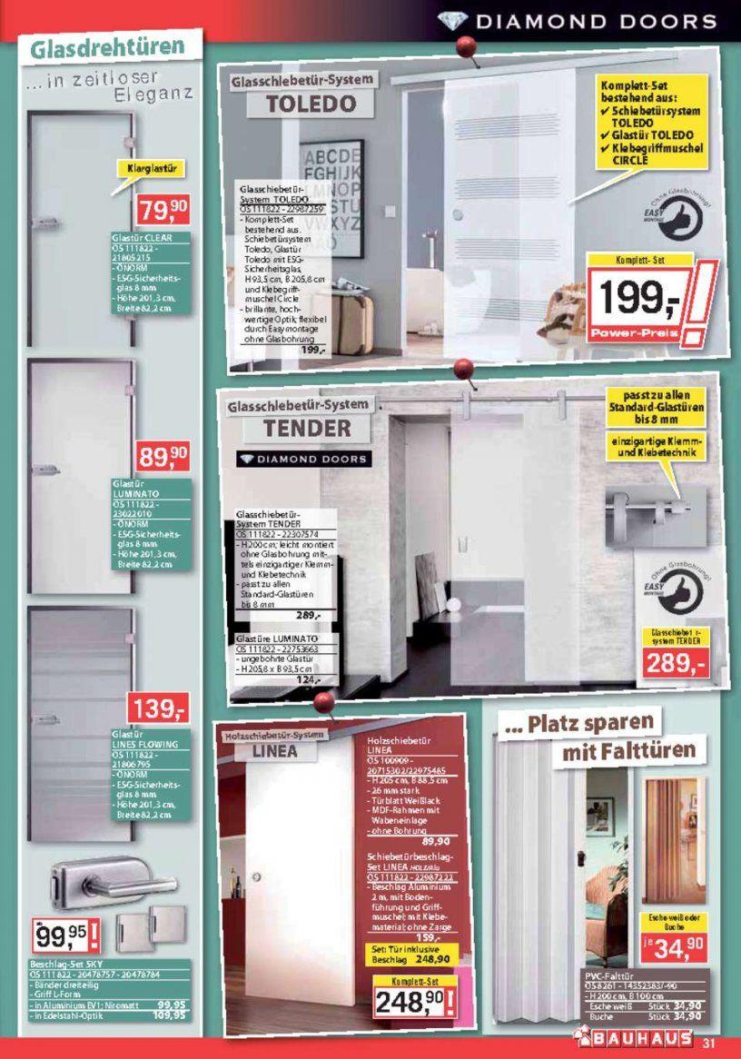 Bauhaus Katalog  Bauhaus Flugblatt Kw 23  Seite No 3148 Gültig von Glastür Mit Zarge Bauhaus Photo