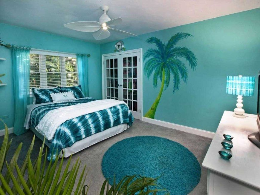 Beach Themed Bedroom Paint Colors Pictures For Bedrooms Luxury von Beach Themed Bedding For Adults Bild