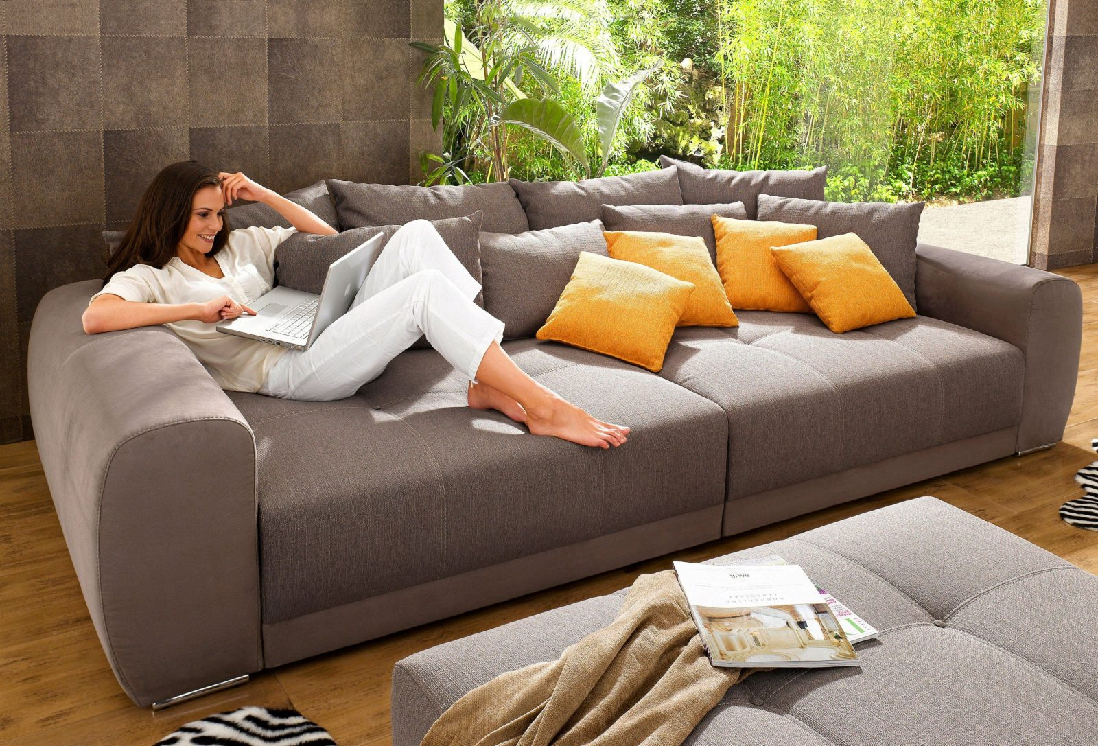 Beeindruckend Xxl Big Sofa & Couch Günstig Auf Rechnung Raten Kaufen von Big Sofa Auf Raten Bild