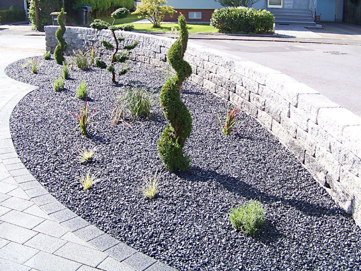 Beet Mit Kies Gestalten – Performal Best Garten Ideen  Herbstdeko von Beet Mit Kies Gestalten Photo