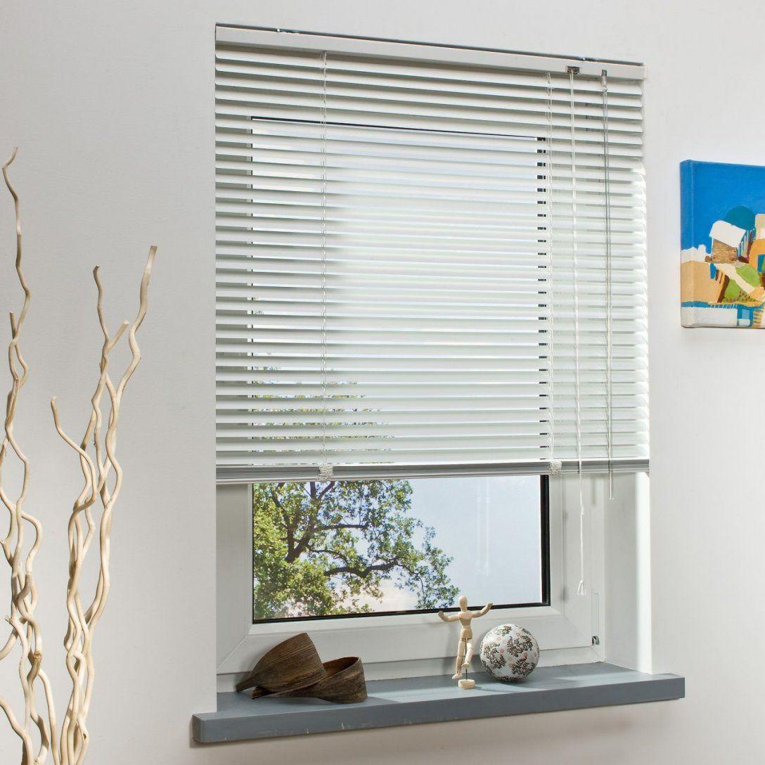Bella Casa Aluminiumjalousie Weiß 220 X 200 Cm  Jalousien von Jalousie 140 Cm Breit Bild