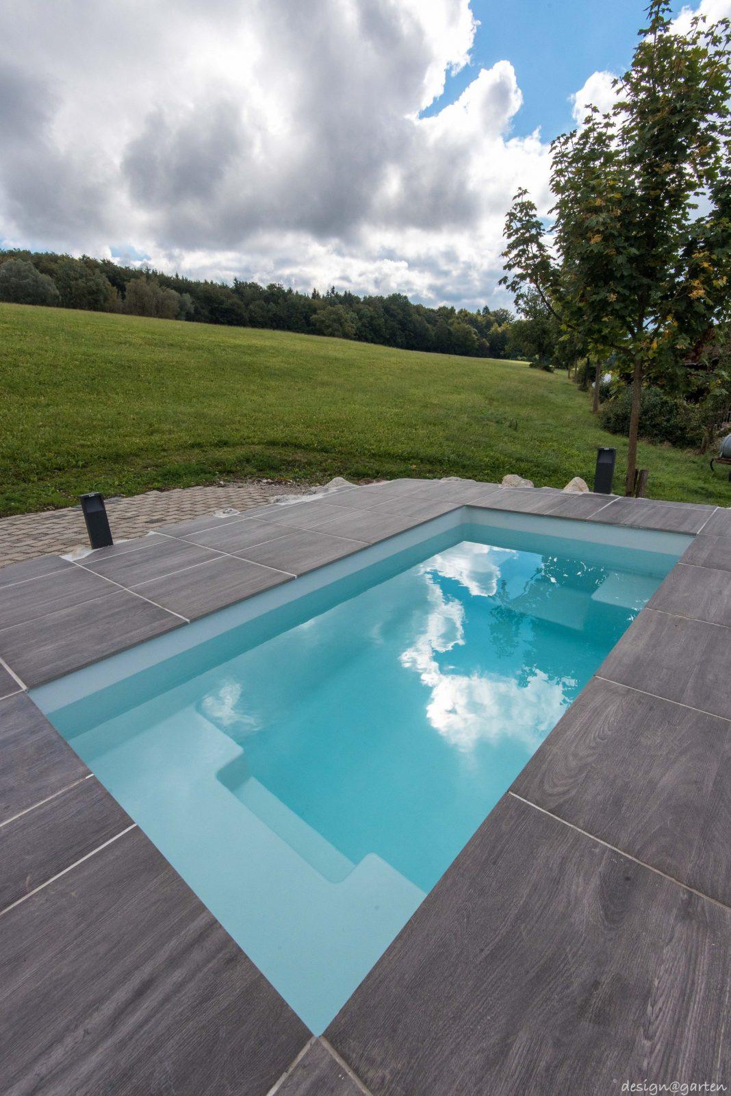 Bemerkenswert Eingebauter Pool Im Garten Kosten Blog Umzug Neu Von