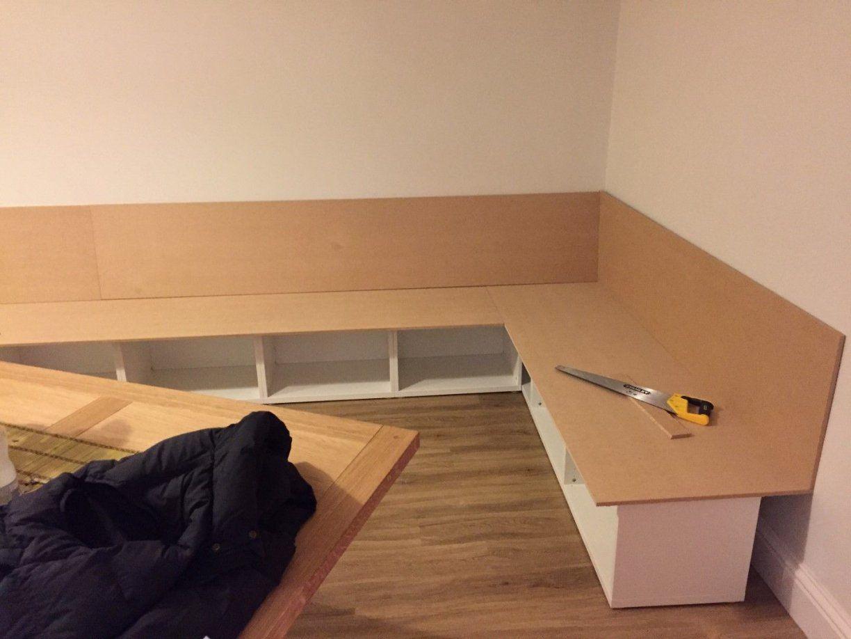 Besta Bench Seat Dining Area Eckbank Esszimmer Und Wohnzimmer Avec von Eckbank Selber Bauen Ikea Bild