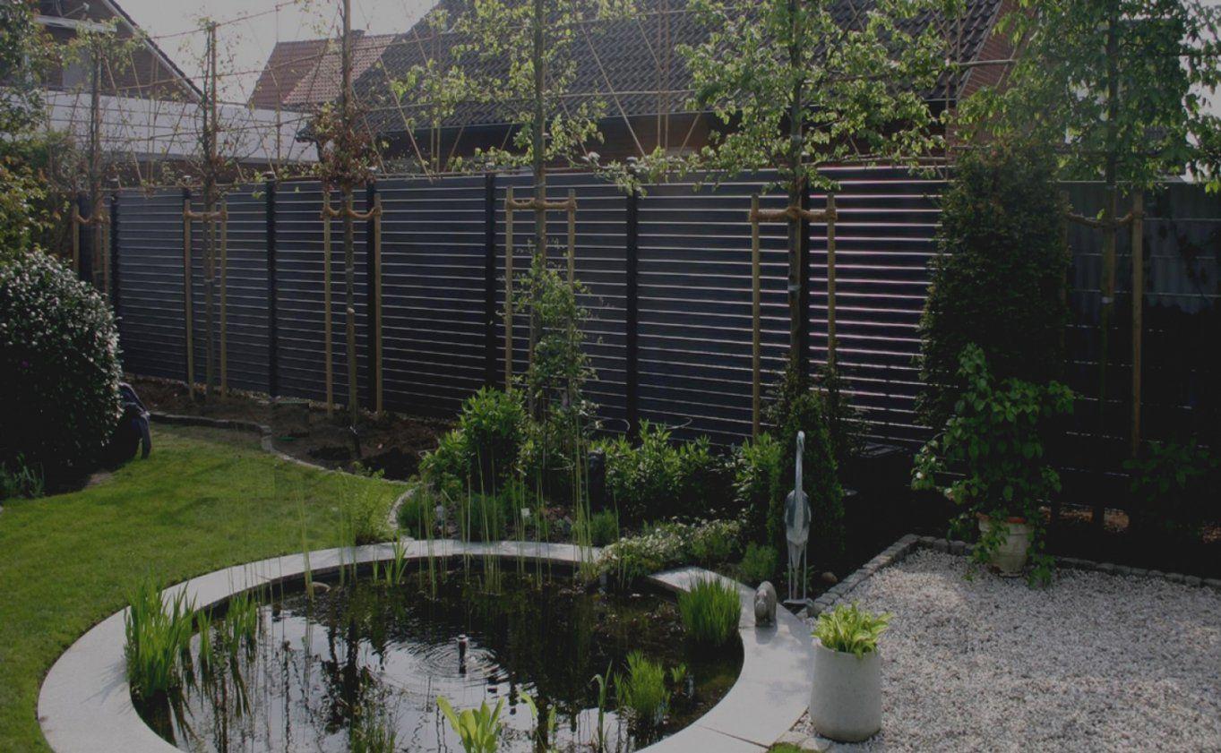 Beste Sichtschutz Garten Wpc 2 Zaundesign Garten System Wpc Grau Und von Schöner Sichtschutz Für Den Garten Bild
