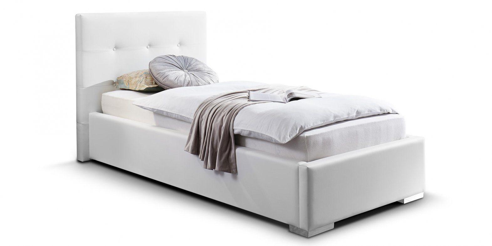 Bett 90 200 – Eyesopen von Bett Hochglanz Weiß 90X200 Photo
