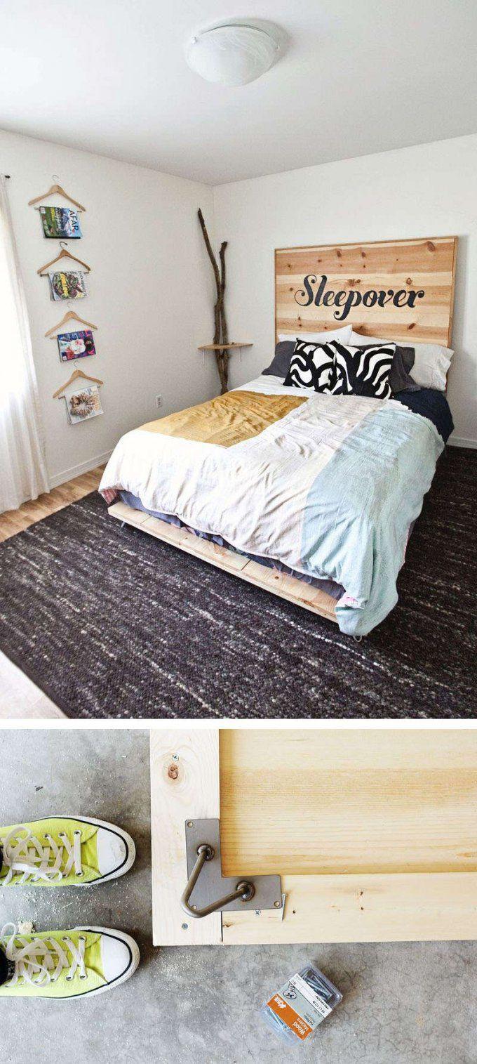 Bett Selber Bauen12 Einmalige Diy Bett Und Bettrahmen Ideen von Plattform Bett Selber Bauen Photo