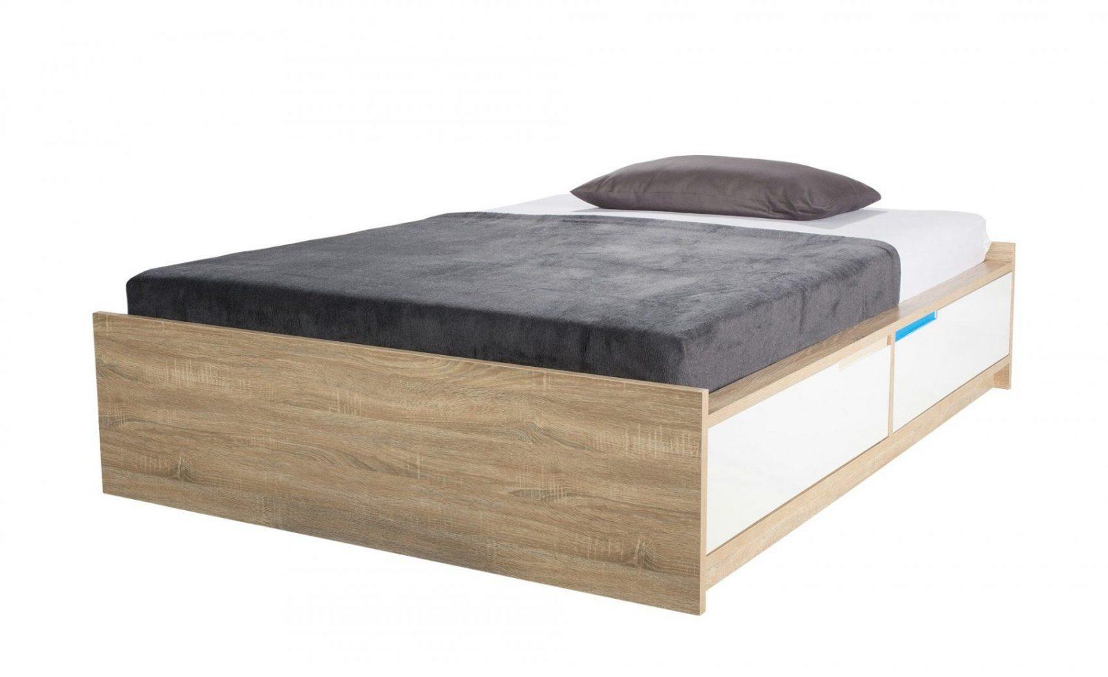 Bett 120x200 mit bettkasten haus design ideen for Bett 120x200 bettkasten