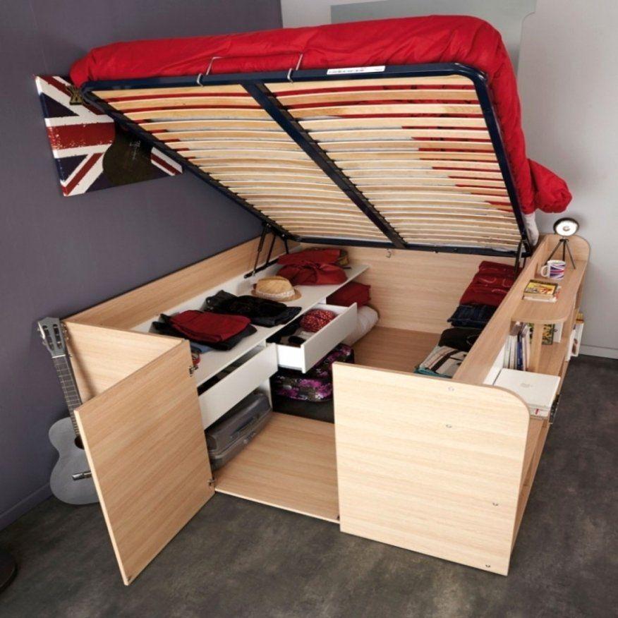 Betten Bauen Stabiles Bett 140X200 Selber Bauen Holzbetten Avec von Bett Bauen Mit Stauraum Bild