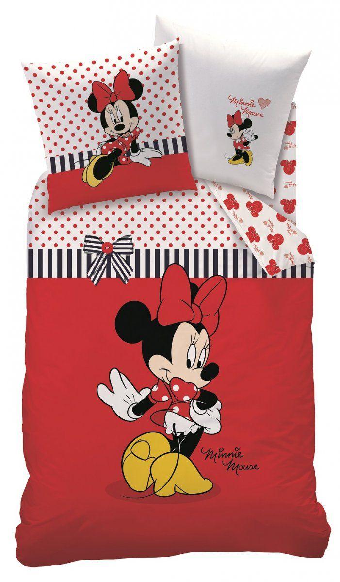Bettwäsche Set Disney Minnie Maus 135X200 80X80 Linon Minnie Mouse von Bettwäsche Minnie Mouse 100X135 Photo