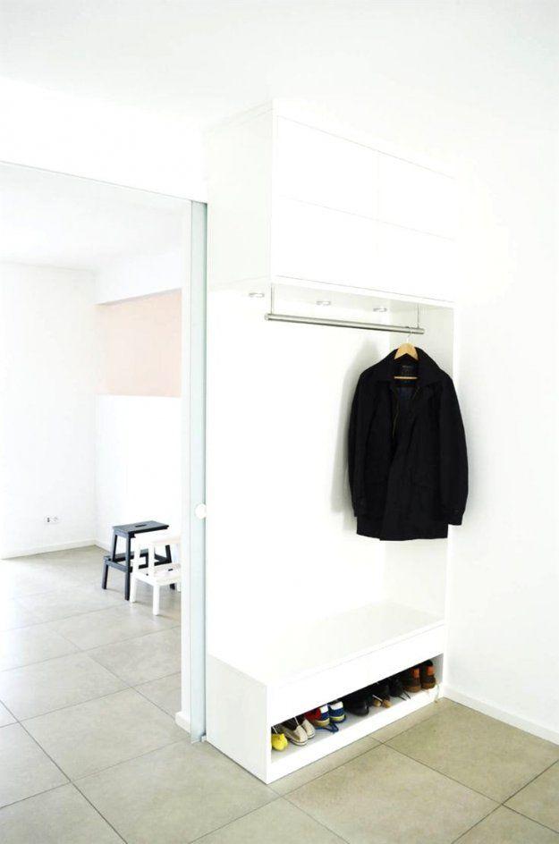 Bezaubernde Ideen Flurgarderobe Für Kleine Flure Und Avec Garderobe von Garderoben Ideen Wenig Platz Photo