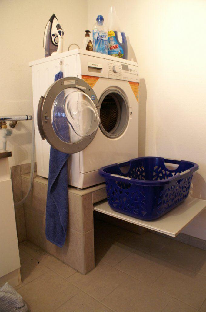 sockel fur waschmaschine podest und trockner bauen selber waschmaschinen podest selber bauen