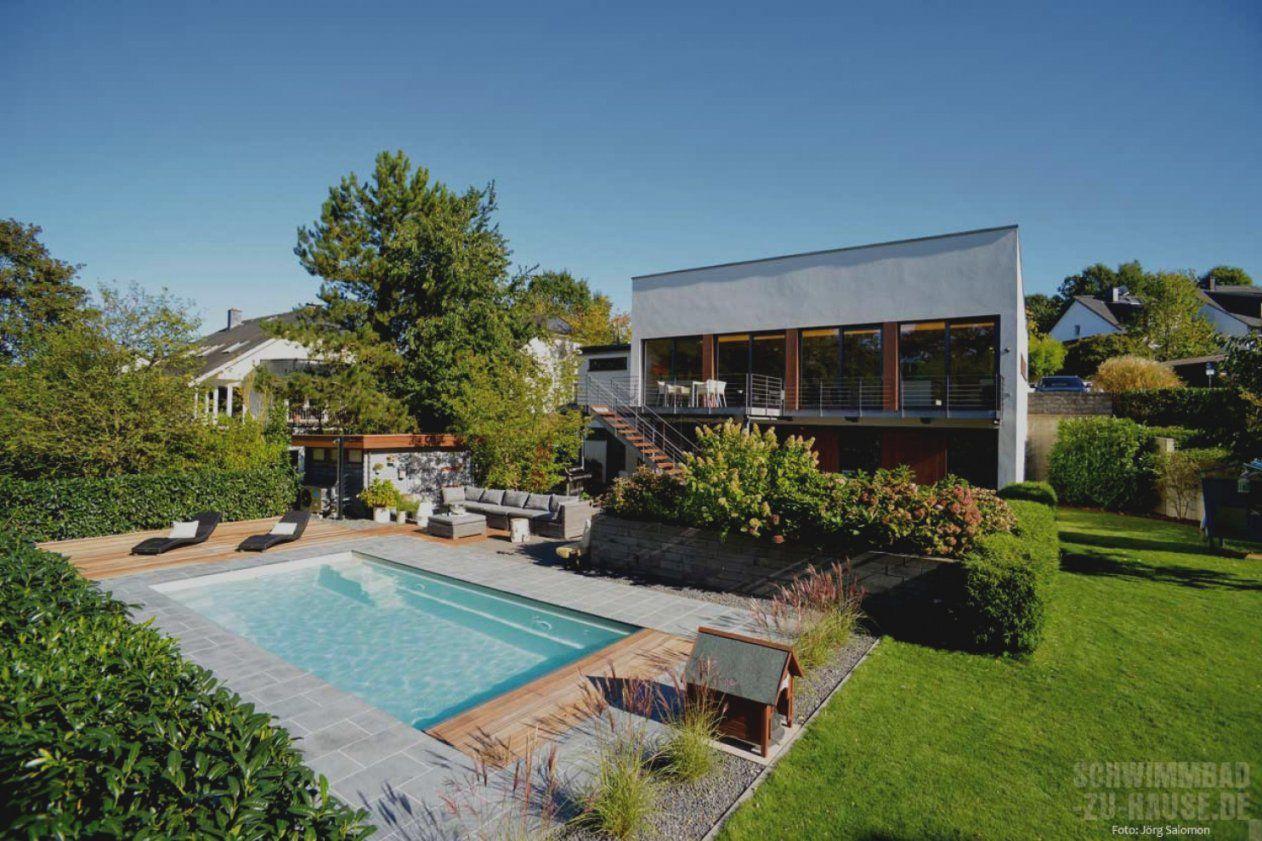 Bilder Von Pool Im Garten Integrieren Schrank Als Raumteiler von Pool Im Garten Integrieren Bild