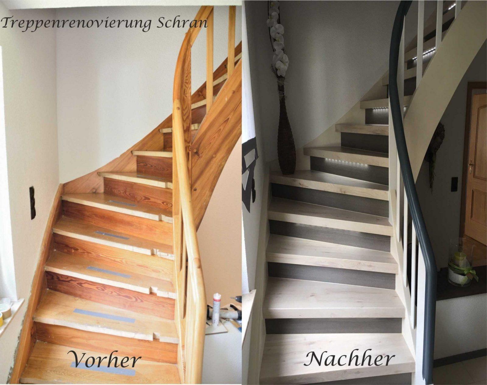 Bildergalerie  Treppenrenovierung  Setzstufen Treppenrenovierung von Altes Treppenhaus Neu Gestalten Bild