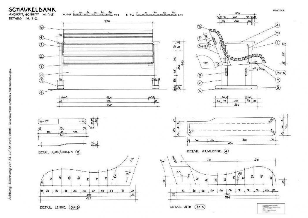 Bildergebnis Für Schaukelliege Holz Bauanleitung  Tisch  Pinterest von Schaukelliege Holz Selber Bauen Bild
