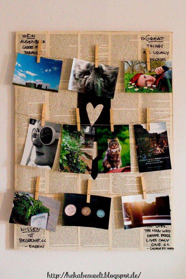 Bilderrahmen Collage Selber Machen  Biamode von Collage Selber Machen Ideen Bild