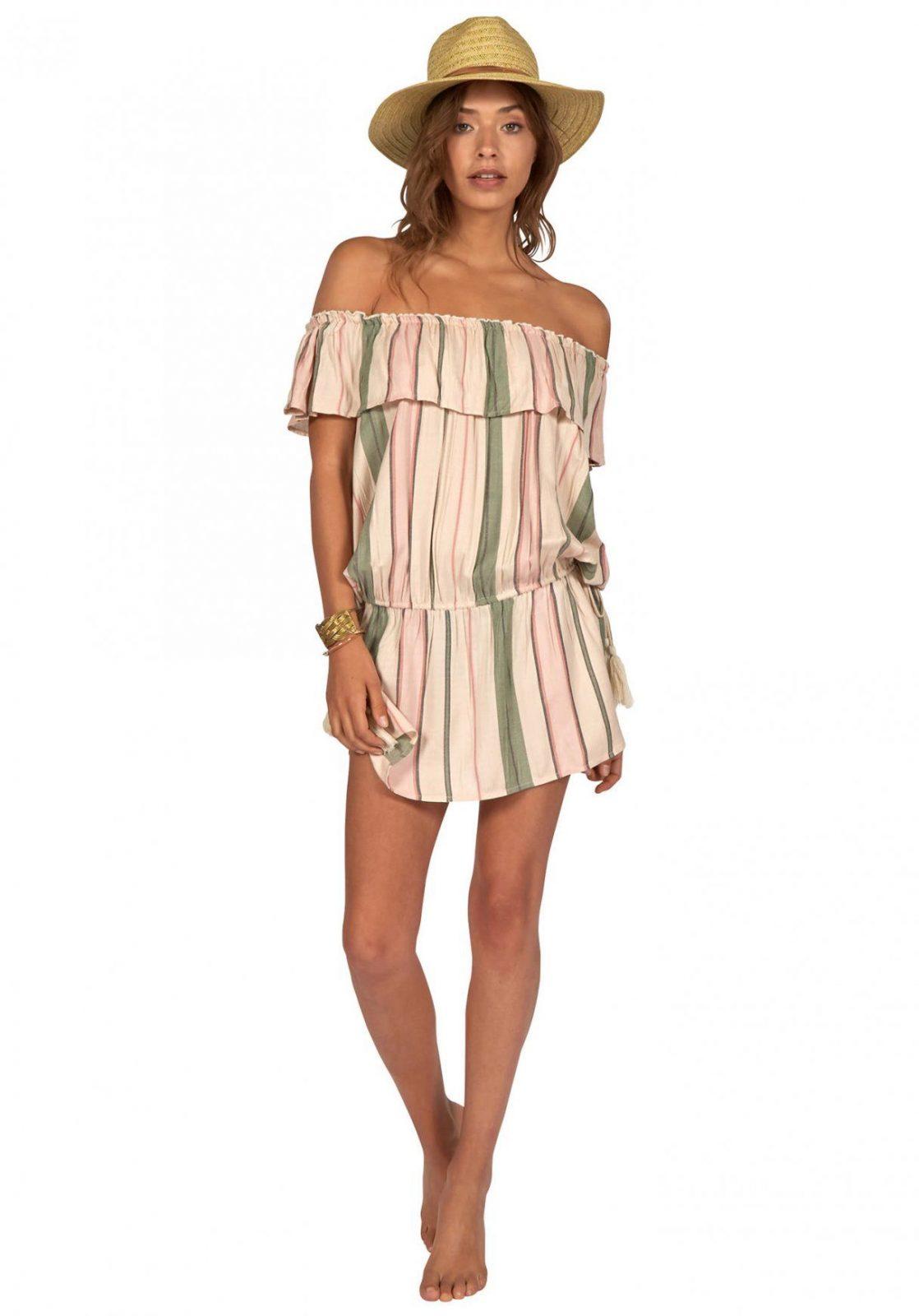 Billabong Cool Summer  Kleid Für Damen  Beige  Planet Sports von Welche Farbe Passt Zu Beige Kleidung Photo