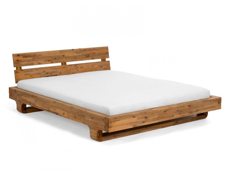 Billig Massive Betten  Bett  Pinterest  Betten Und Bett von Bett Aus Balken Bauanleitung Photo