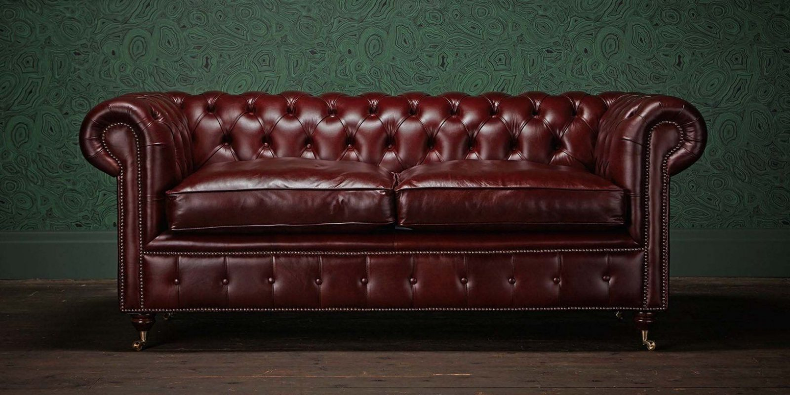 Black Chesterfield Sofa Gray Chesterfield Sofa Green Leather von Green Leather Chesterfield Sofa Photo