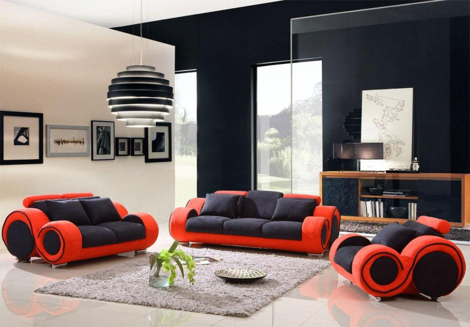 Black Lounge Furniture Red And Black Furniture For Living Room Home von Red And Black Furniture Photo