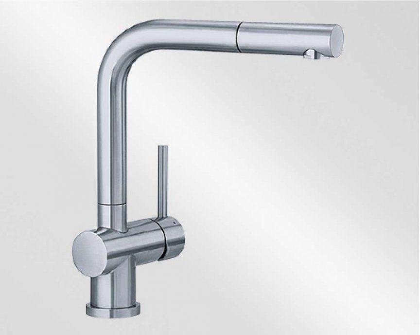 Blanco Lomiss Edelstahl Gebürstet 518716 High Quality von Küchenarmatur Mit Brause Edelstahl Bild
