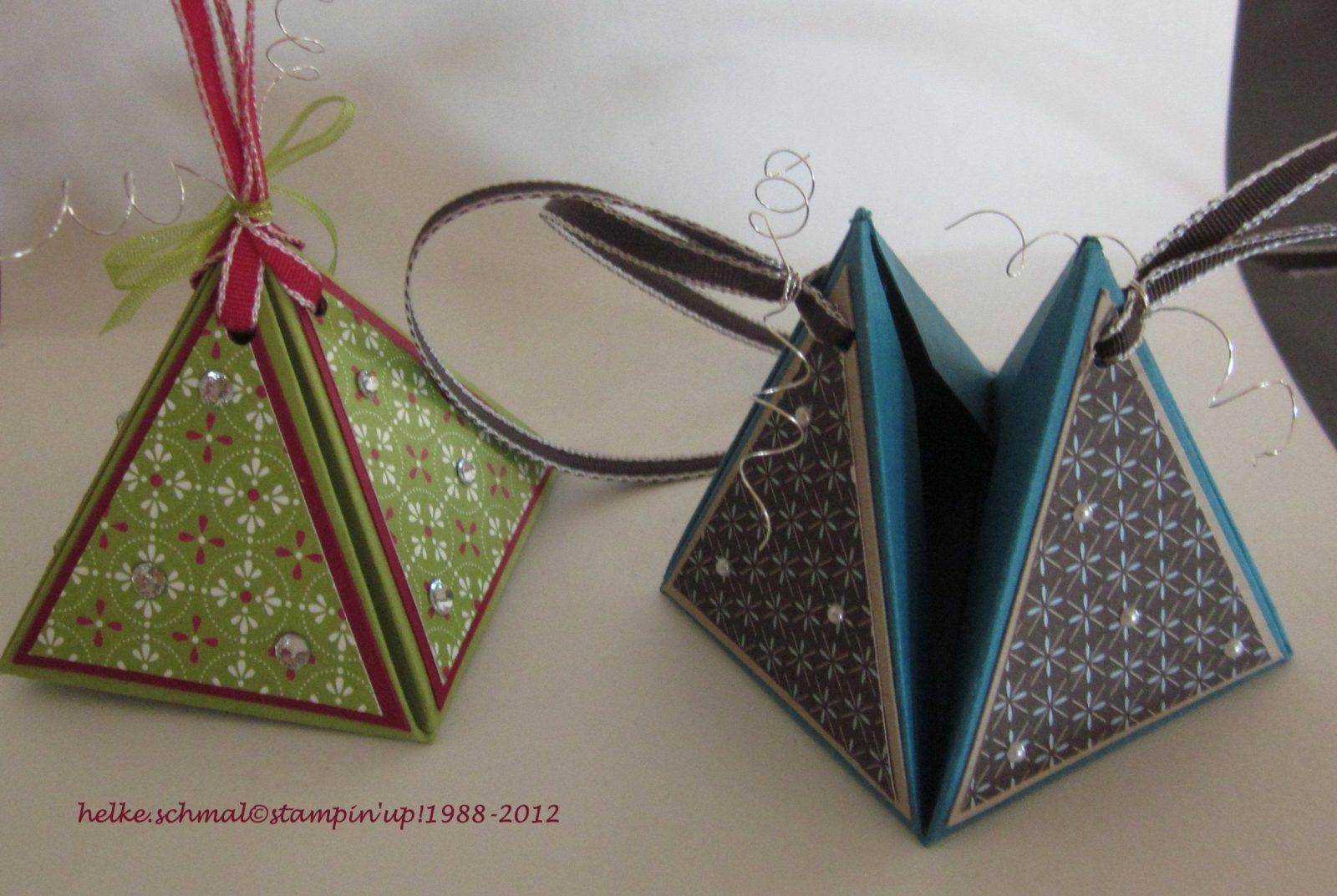 Blog Hop Zum Herbst Und Winter Mini  Design Mit Papier von Kleine Schachteln Selber Basteln Photo