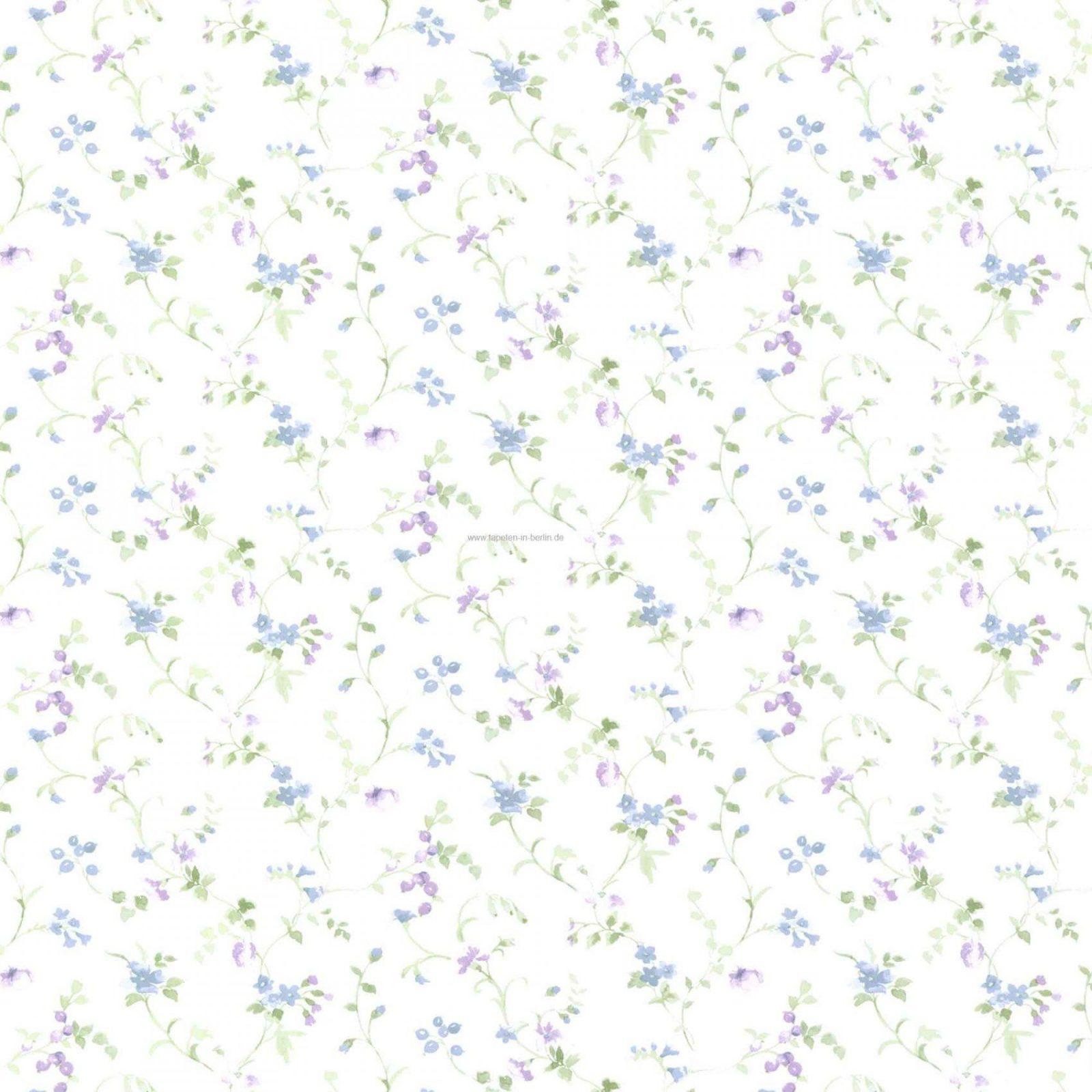 Blumen Tapete 7  Tapeten Mit Blumenmuster Online Kaufen von Tapete Landhaus Floral Blümchen Bild