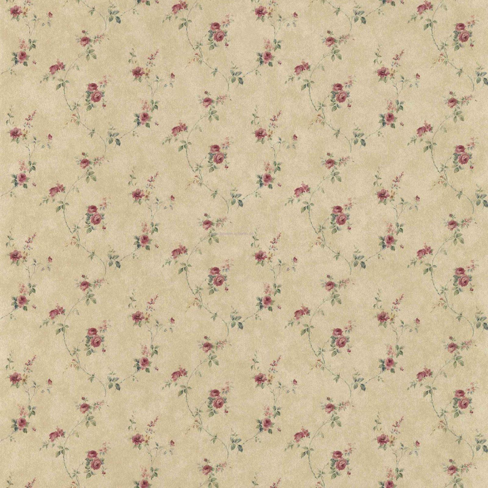 blumen tapeten 5 landhausstil florale u streifen tapete u borte von tapete landhaus floral blumchen photo 1 - Tapete Landhaus Floral Blumchen