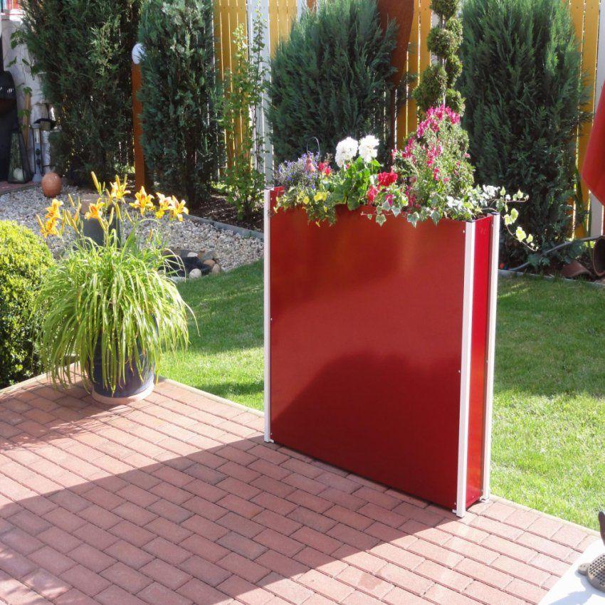 Blumenkästen Balkon Sichtschutz Für Fantasie – Ambernight von Garten Sichtschutz Mit Blumenkasten Photo