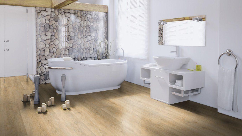 Bodenbelag Ideen Für Badezimmer  Bodenbelag Marktplatz von Klick Vinyl Für Badezimmer Bild