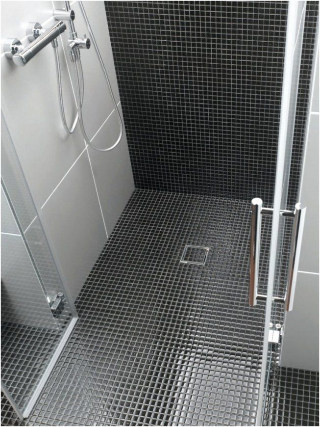 Bodengleiche Dusche Fliesen  Swalif von Bodengleiche Dusche Fliesen Rutschfest Bild