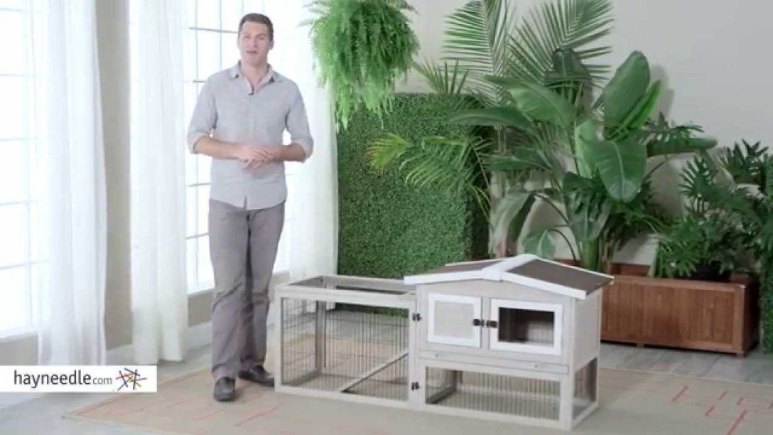 Boomer & George Bungalow Rabbit Hutch With Run  Product Review von Boomer And George Rabbit Hutch Photo