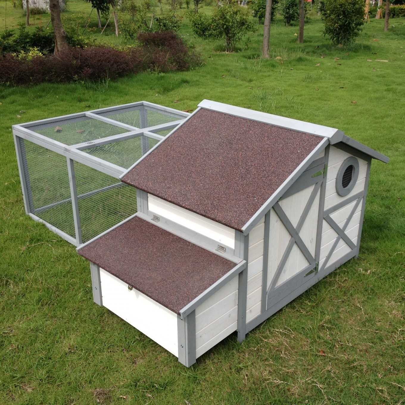 Boomer & George Cape Bay Dualuse Chicken Coop Rabbit Hutch von Boomer And George Rabbit Hutch Photo