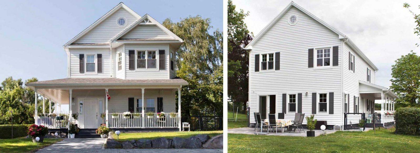 Bostonhaus  Amerikanische Häuser  Startseite von Amerikanische Häuser Bauen In Deutschland Bild