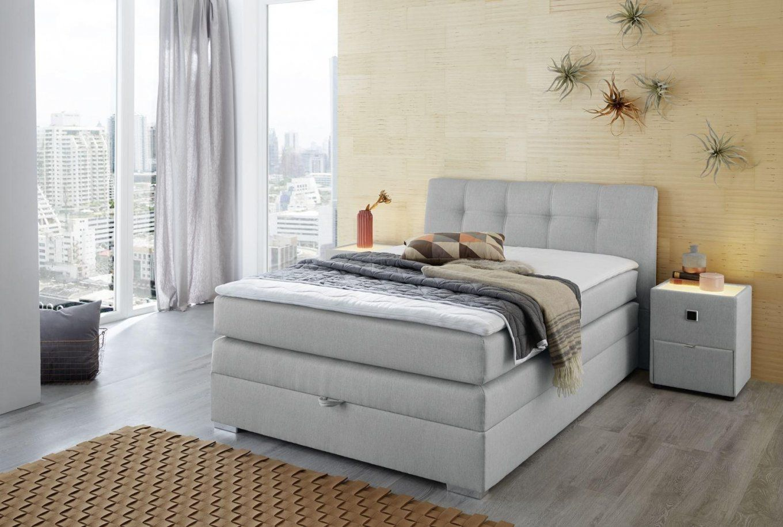 Boxspringbetten  Betten Günstig Online Kaufen  Poco Mit Runder von Bett Komplett Günstig Kaufen Bild
