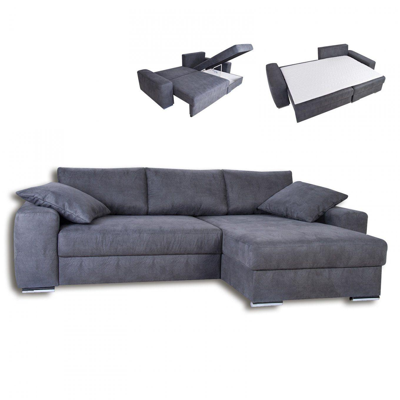 boxspringecksofa grau liegefunktion ecksofas lform sofas von roller ecksofa mit schlaffunktion. Black Bedroom Furniture Sets. Home Design Ideas