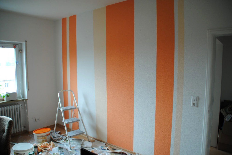 Braun Überall Streifen An Der Wand Schön Auf Moderne Deko Ideen Mit von Streifen An Der Wand Photo