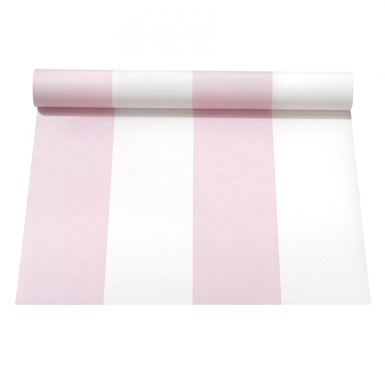 Brillante Inspiration Rosa Weiß Gestreifte Tapete Und Geniale von Tapete Rosa Weiß Gestreift Bild