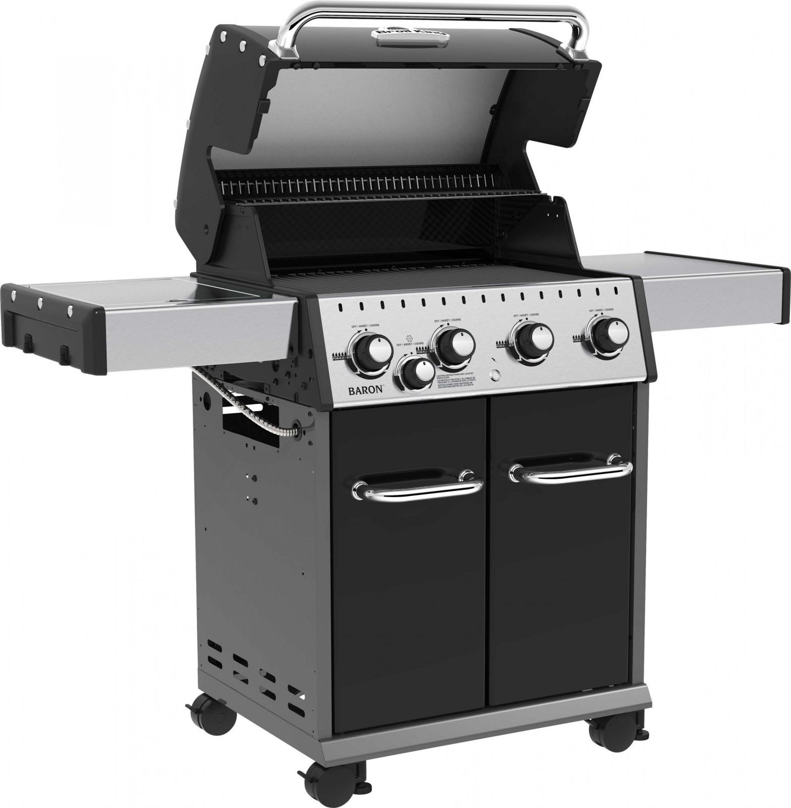 Broil King Bbq  Baron 440 Black  Auto Trail Ltd von Broil King Baron 440 Test Bild