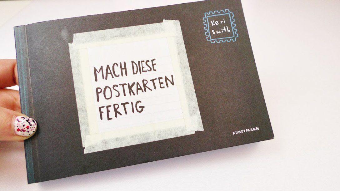 """Buchvorstellung """"mach Diese Postkarten Fertig"""" Von Keri Smith von Kreative Bilder Selbst Gestalten Bild"""