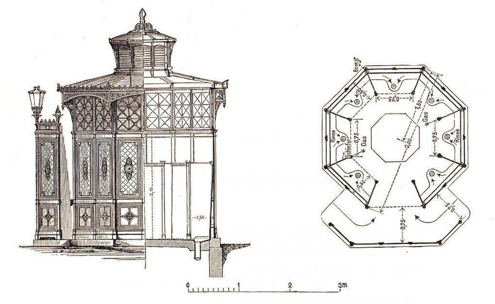 Café Achteck – Wikipedia von Pavillon 8 Eckig Holz Bauanleitung Bild