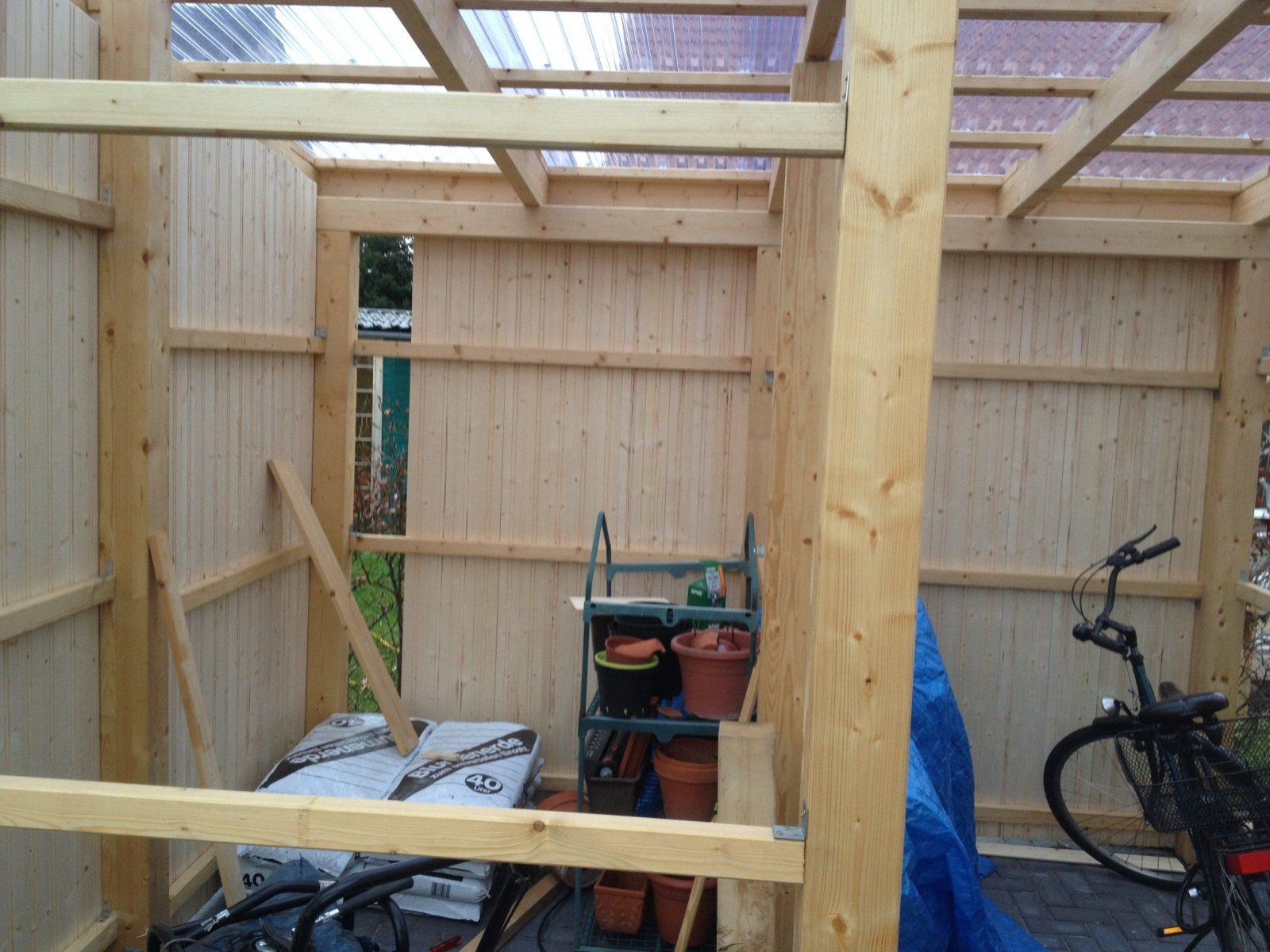 carport mit schuppengartenhaus selbstgebaut – haus am horizont von