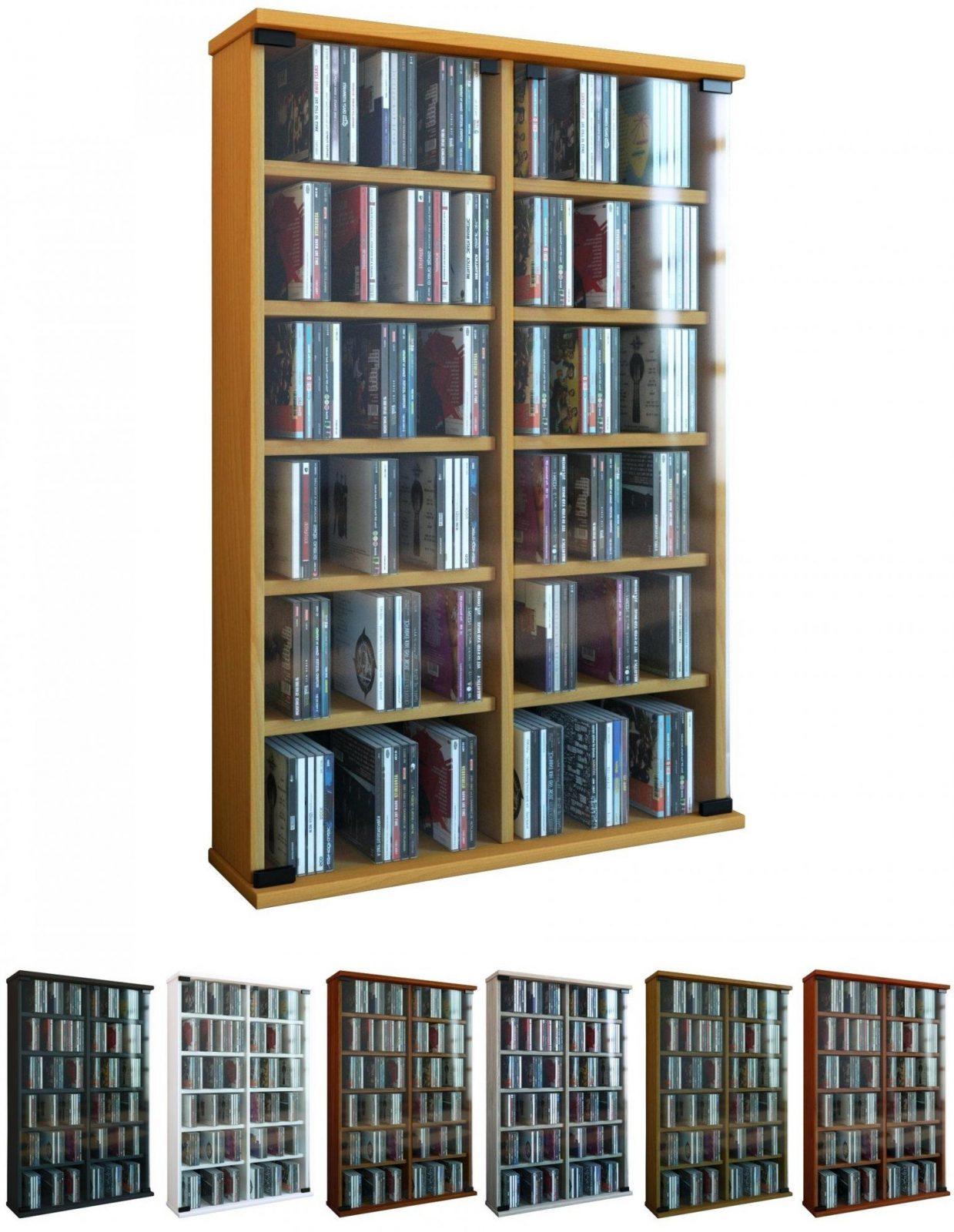 Cd Schrank Dvd Regal Mit Ta 1 4 Ren Bilder Das Wirklich von Cd Schrank 1000 Cds Photo
