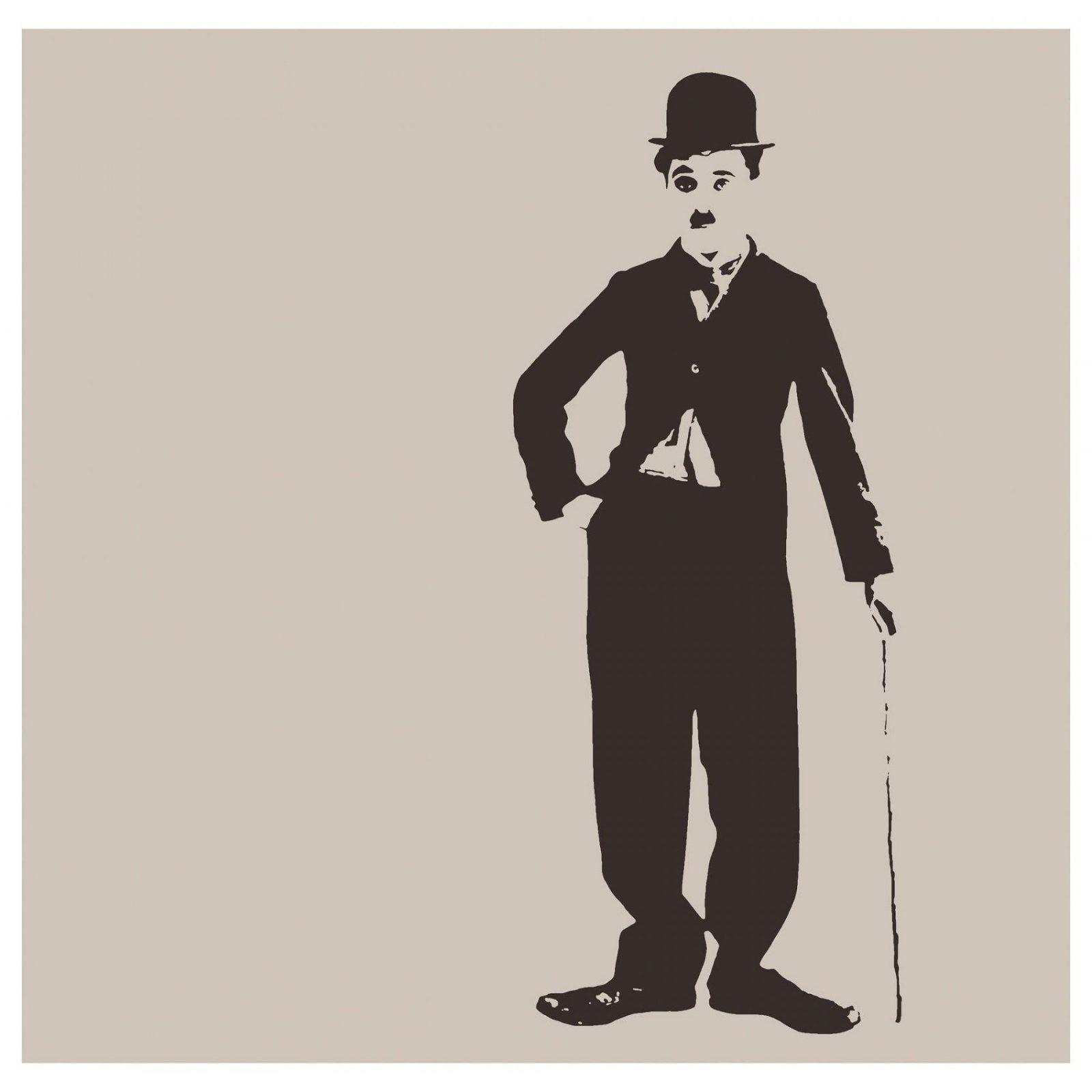 """Charlie Chaplin Pjätteryd Picture  Ikea 355"""" X 355"""" $3999 von Audrey Hepburn Bild Ikea Photo"""