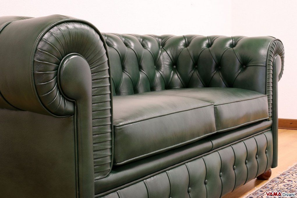 Chesterfield 2 Seater Sofa  Price Upholstery And Dimensions von Green Leather Chesterfield Sofa Photo