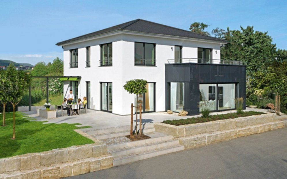 Chic Design Fertighaus Stadtvilla City Villa Schon Ab 169 999 von Kosten Allkauf Haus Schlüsselfertig Photo