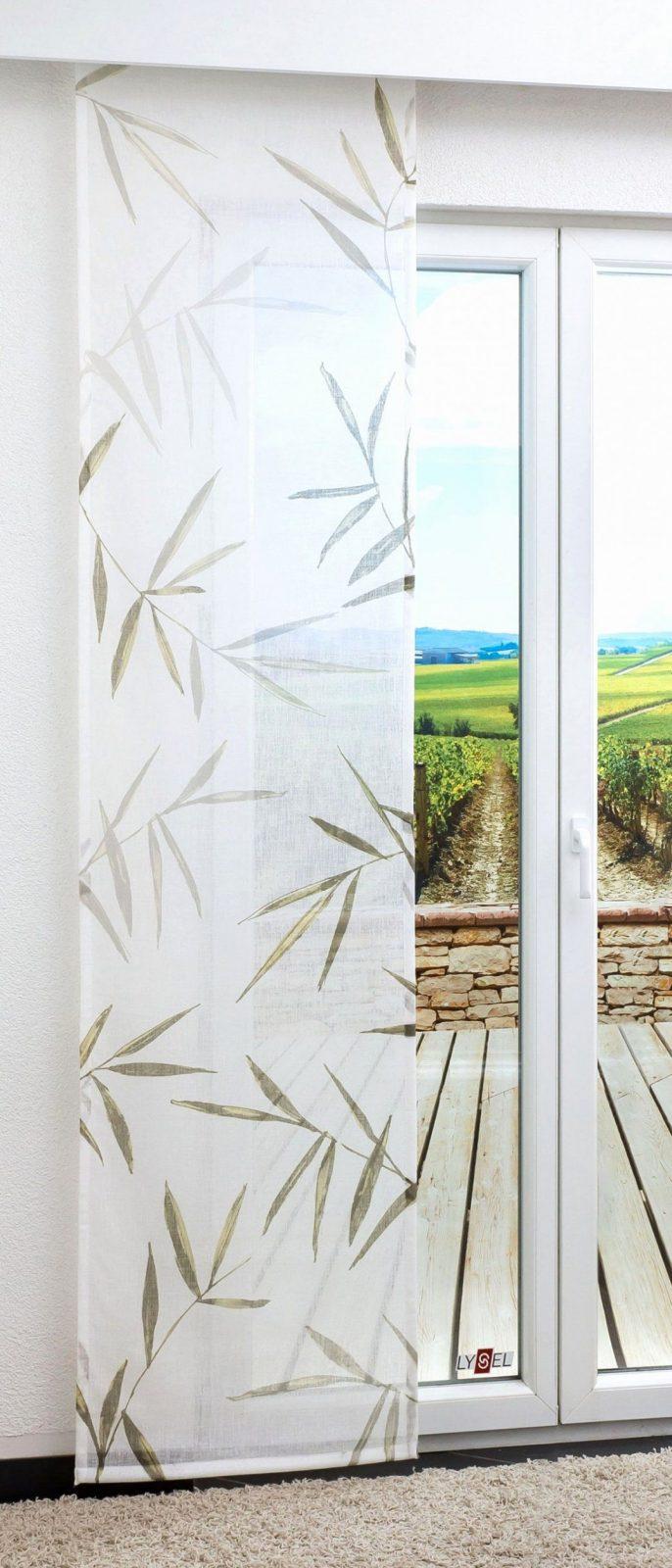 Cool Inspirierend Schiebegardine Bambusart 0D Zum Beige Gardinen Zum von Schiebevorhang 30 Cm Breit Photo