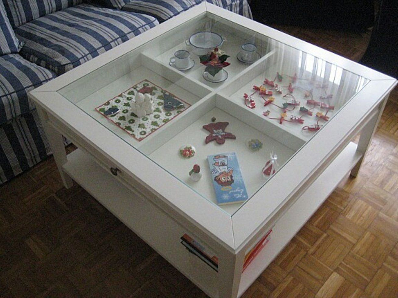 Couchtisch Holz Mit Glasplatte Und Schublade Glasplatte Tisch von Couchtisch Mit Schublade Ikea Bild
