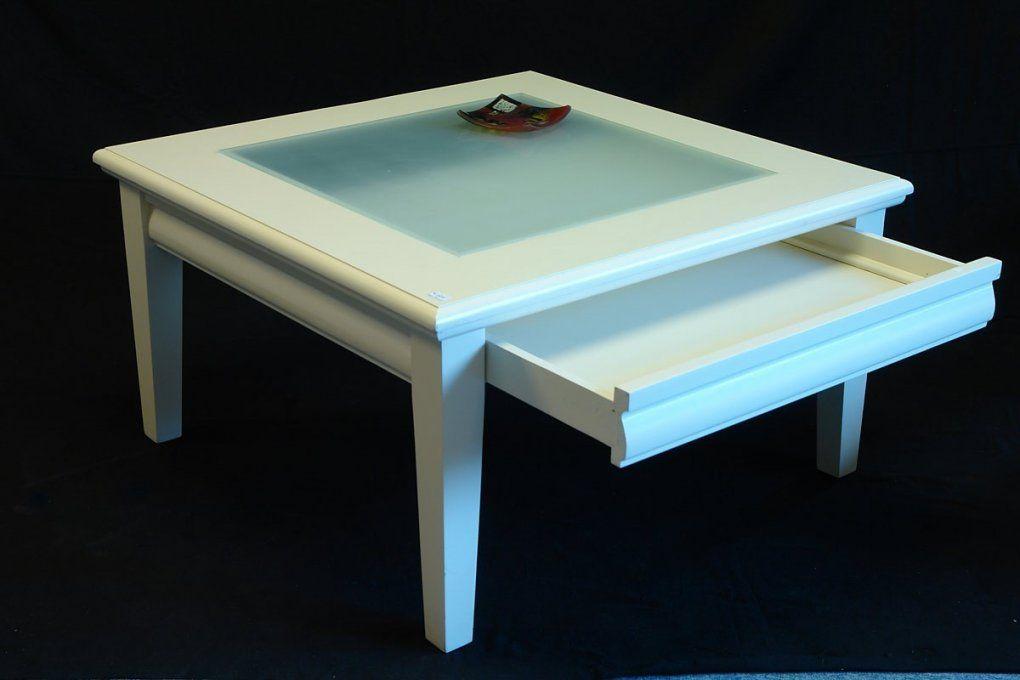 Couchtisch Mit Glasplatte Und Schublade In Antik Optik Ikea Eiche von Couchtisch Mit Schublade Ikea Photo