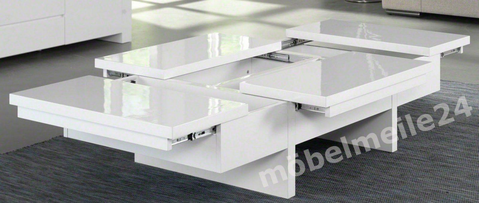 Couchtisch Weis Hochglanz Gros Design Weiss Holz Oval Matt Mit von Moderne Couchtische Weiß Hochglanz Bild