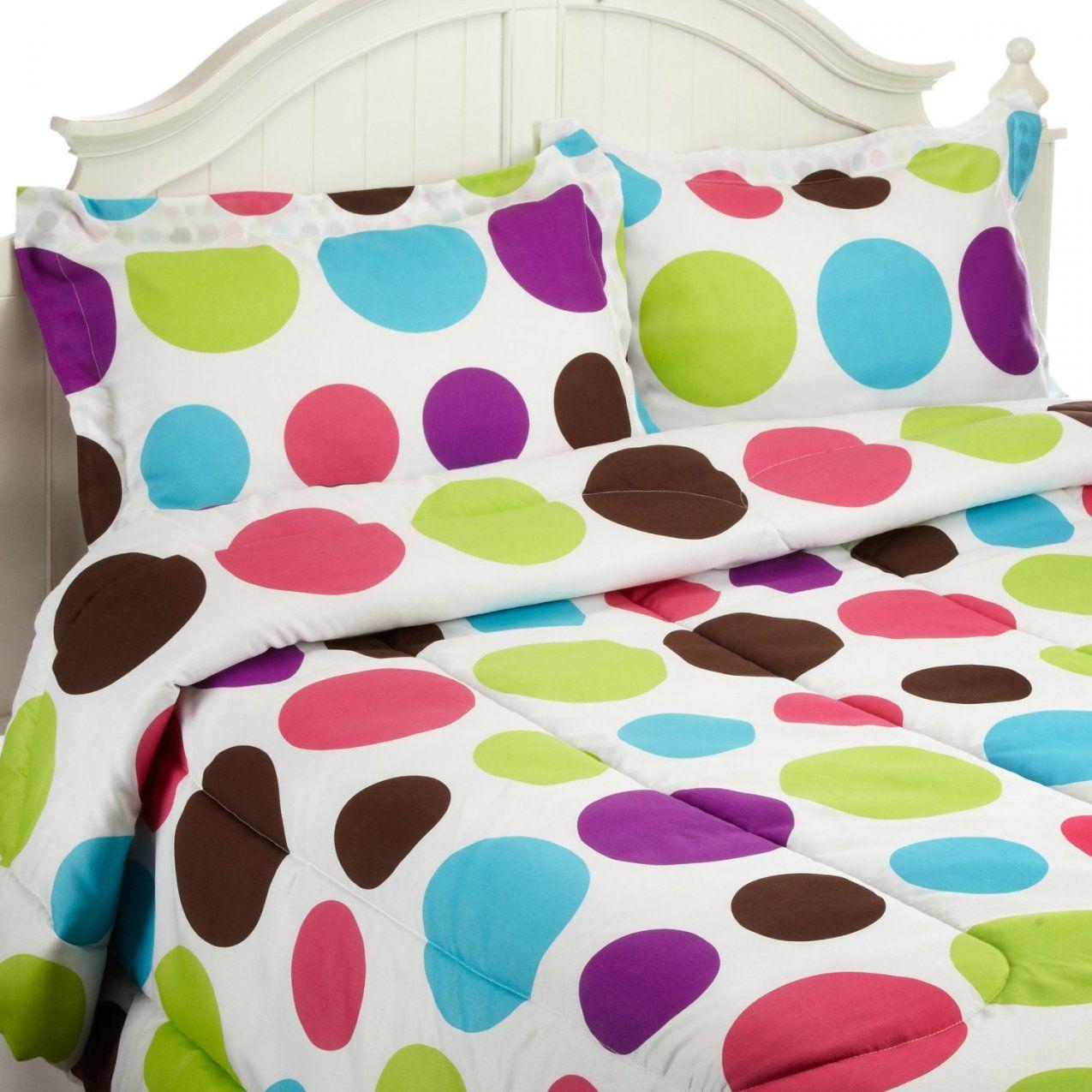 Cute Polka Dots Comforter Sets von Polka Dotted Bed Sheets Photo